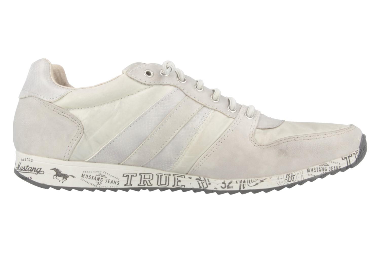 MUSTANG - Damen Sneaker - Grau Schuhe in Übergrößen – Bild 3