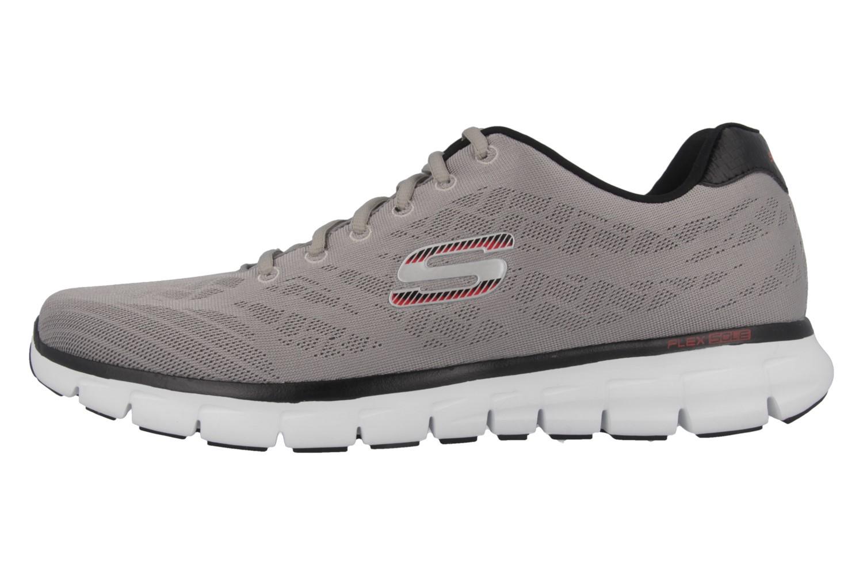 SKECHERS - Synergy Fine Tune - Herren Sneaker - Grau Schuhe in Übergrößen – Bild 2