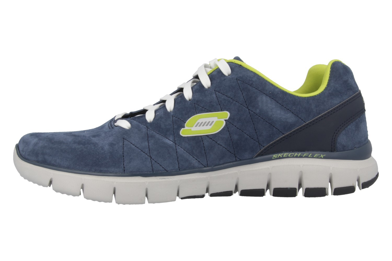 SKECHERS - Natural Vigor - Herren Sneaker - Blau Schuhe in Übergrößen – Bild 2