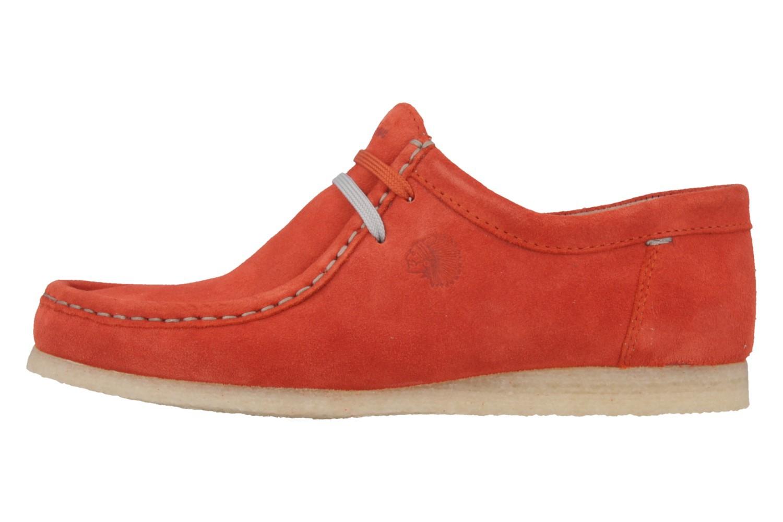 SIOUX - Grashopper - Damen Halbschuhe - Orange Schuhe in Übergrößen – Bild 2