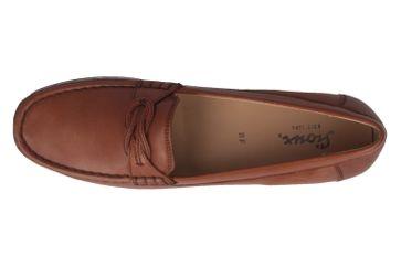 SIOUX - Cosetta - Damen Mokassin - Braun Schuhe in Übergrößen – Bild 4
