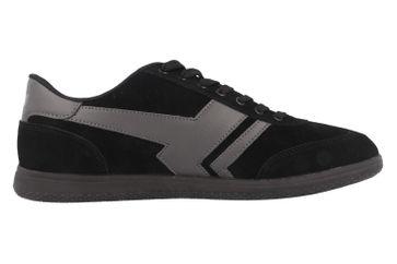 BORAS - Socca - Herren Halbschuhe - Schwarz Schuhe in Übergrößen – Bild 3