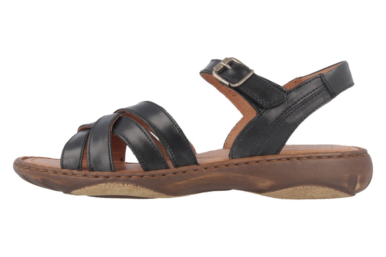 Josef Seibel Debra 23 Sandalen in Übergrößen Schwarz 76723 62 600 große Damenschuhe – Bild 2