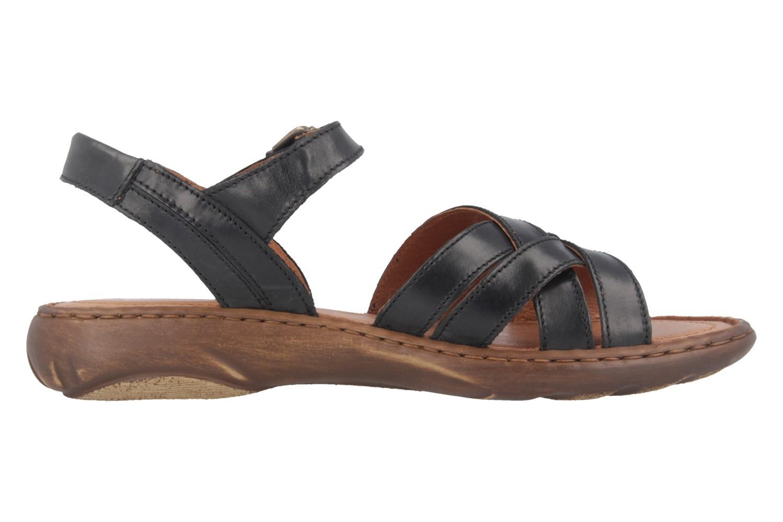 Josef Seibel Debra 23 Sandalen in Übergrößen Schwarz 76723 62 600 große Damenschuhe – Bild 3