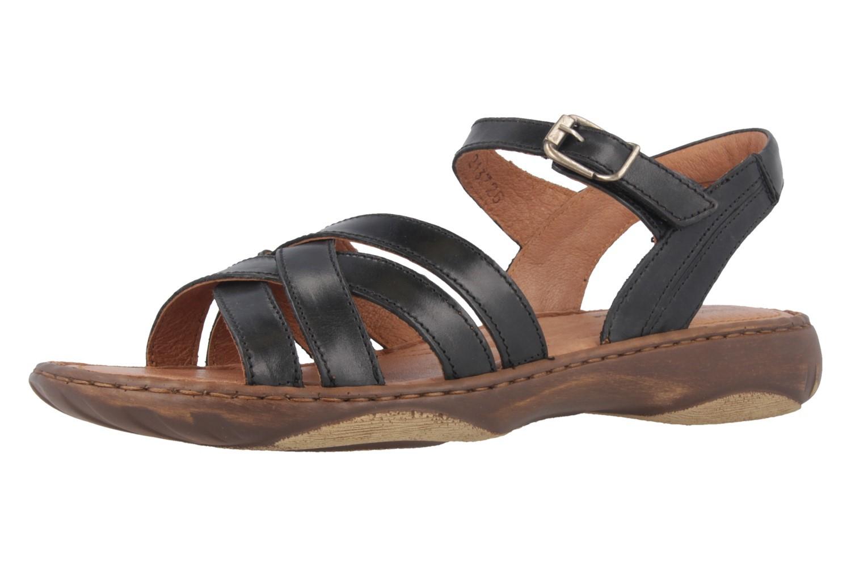 Josef Seibel Debra 23 Sandalen in Übergrößen Schwarz 76723 62 600 große Damenschuhe – Bild 1