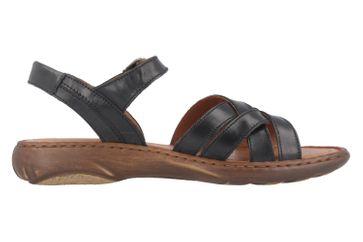 JOSEF SEIBEL - Debra 23 - Damen Sandalen - Schwarz Schuhe in Übergrößen – Bild 3