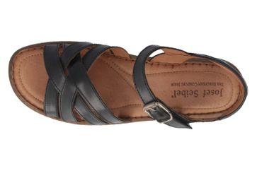 JOSEF SEIBEL - Debra 23 - Damen Sandalen - Schwarz Schuhe in Übergrößen – Bild 4