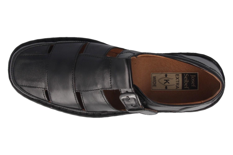JOSEF SEIBEL - Bradfjord 36 - Herren Sandalen - Schwarz Schuhe in Übergrößen – Bild 4