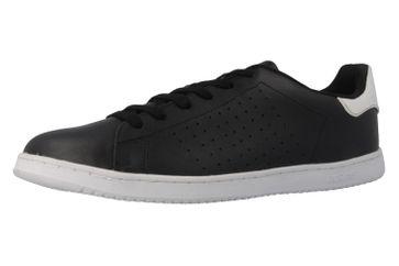 SALE - BORAS - Baseline - Herren Sneaker - Schwarz Schuhe in Übergrößen – Bild 1