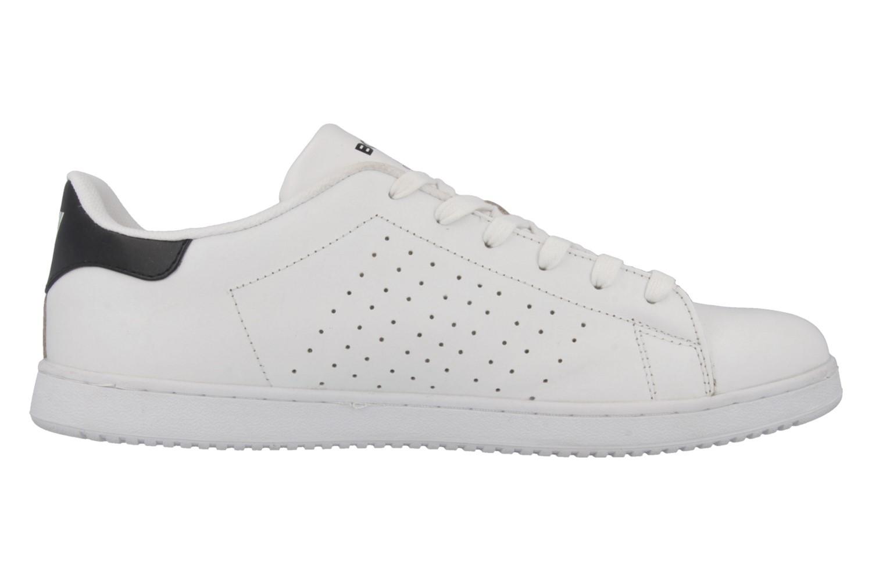 Boras Sneaker in Übergrößen Weiß 3208-0066 große Herrenschuhe – Bild 3