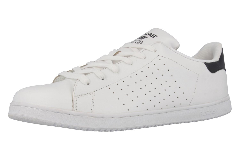 SALE - BORAS - Baseline - Herren Sneaker - Weiß Schuhe in Übergrößen – Bild 1