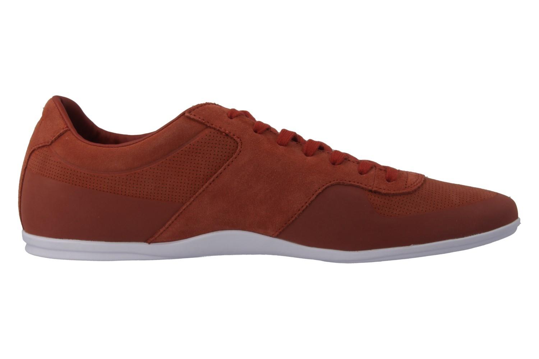 LACOSTE - Turnier 216 - Herren Sneaker - Orange Schuhe in Übergrößen – Bild 3