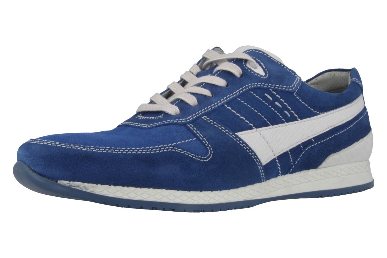 FRETZ MEN - Tornado - Herren Halbschuhe - Blau Schuhe in Übergrößen – Bild 1