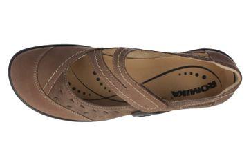 ROMIKA - Maddy 11 - Damen Spangenballerinas - Braun Schuhe in Übergrößen – Bild 4