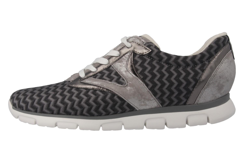 GABOR sport - Damen Sneaker - Grau/Schwarz Schuhe in Übergrößen – Bild 2