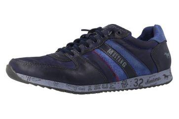 MUSTANG - Sneaker - Blau Schuhe in Übergrößen