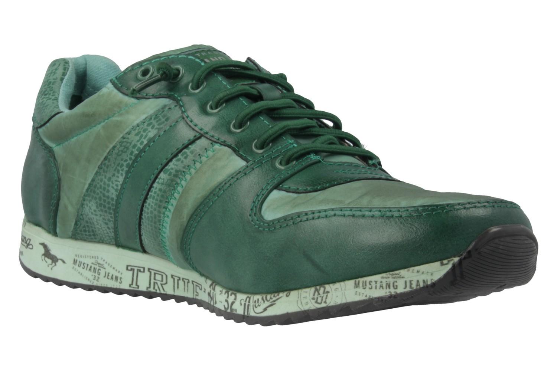 MUSTANG - Sneaker - Grün Schuhe in Übergrößen – Bild 4
