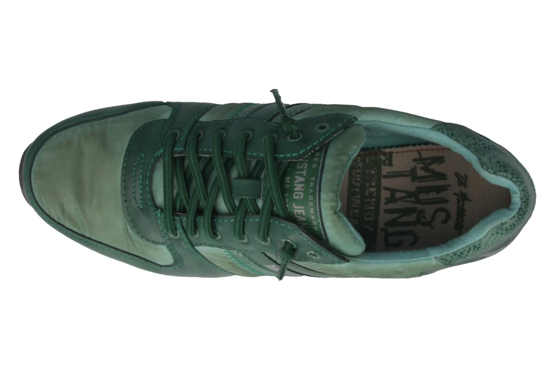 b455b6575278ff Mustang Shoes Sneaker in Übergrößen Grün 1226-401-700 große ...