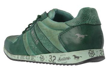 Mustang Shoes Sneaker in Übergrößen Grün 1226-401-700 große Damenschuhe – Bild 2