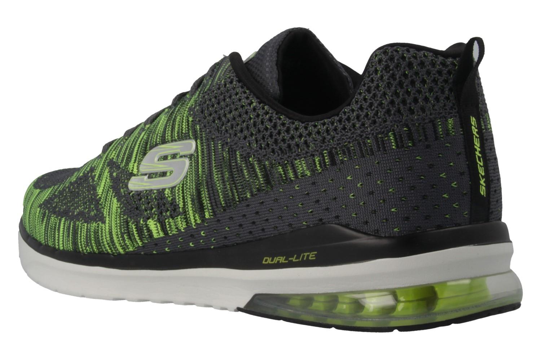 SKECHERS - Skech-Air Infinity - Herren Sneaker - Grün Schuhe in Übergrößen – Bild 2