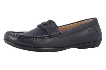 SIOUX - Cosetta - Damen Mokassin - Blau Schuhe in Übergrößen – Bild 1
