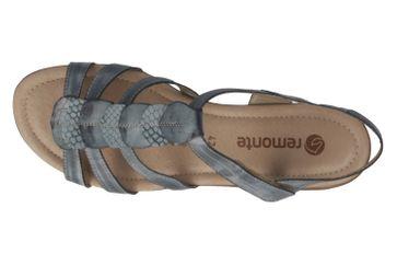 REMONTE - Damen Sandalen - Blau Schuhe in Übergrößen – Bild 5