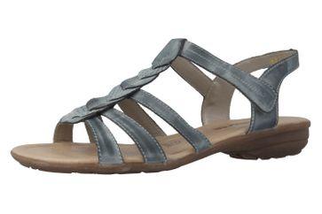 REMONTE - Damen Sandalen - Blau Schuhe in Übergrößen