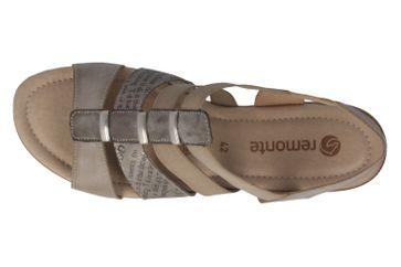 Remonte Sandalen in Übergrößen Grau R3644-25 große Damenschuhe – Bild 5