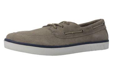 BORAS - Sailor - Herren Halbschuhe - Grau Schuhe in Übergrößen