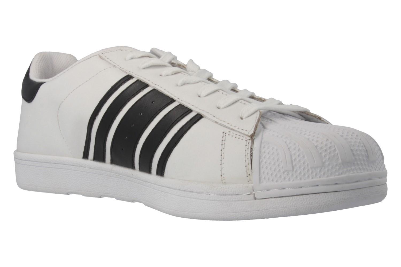 SALE - BORAS - Comeback - Herren Sneaker - Weiß Schuhe in Übergrößen – Bild 4