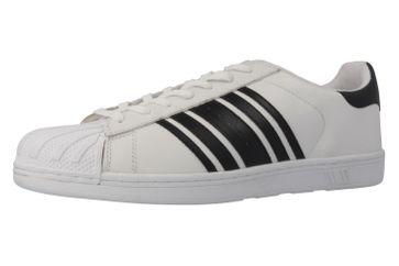 Boras Sneaker in Übergrößen Weiß 3679-0066 große Herrenschuhe – Bild 1