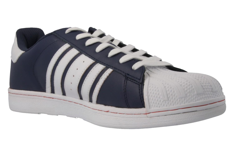 SALE - BORAS - Comeback - Herren Sneaker - Blau Schuhe in Übergrößen – Bild 4