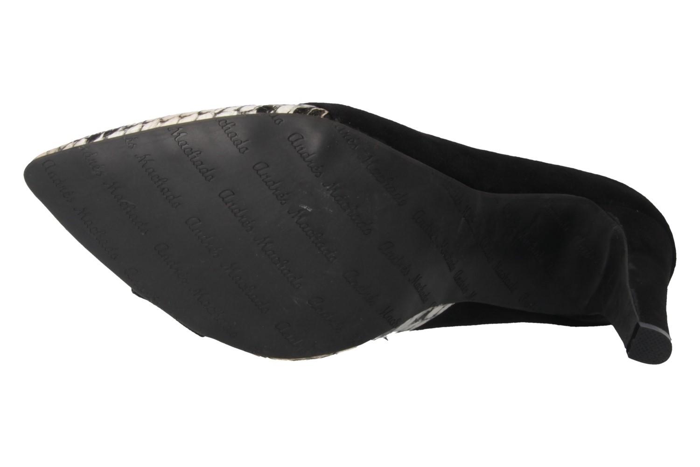 Andres Machado Pumps in Übergrößen Schwarz AM5078 Negro Serpiente große Damenschuhe – Bild 5