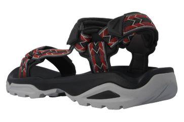 TEVA - M Terra Fi 4 - Herren Sandalen - Rot/Grau Schuhe in Übergrößen – Bild 2