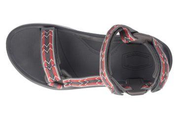 TEVA - M Terra Fi 4 - Herren Sandalen - Rot/Grau Schuhe in Übergrößen – Bild 5