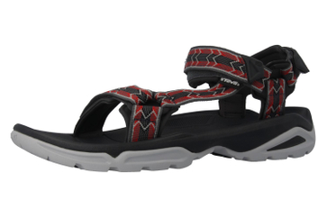 TEVA - M Terra Fi 4 - Herren Sandalen - Rot/Grau Schuhe in Übergrößen – Bild 1