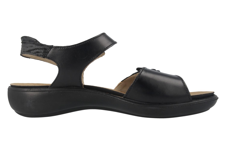 ROMIKA - Ibiza 67 - Damen Sandalen - Schwarz Schuhe in Übergrößen – Bild 3