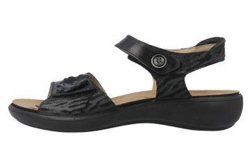 ROMIKA - Ibiza 67 - Damen Sandalen - Schwarz Schuhe in Übergrößen – Bild 2