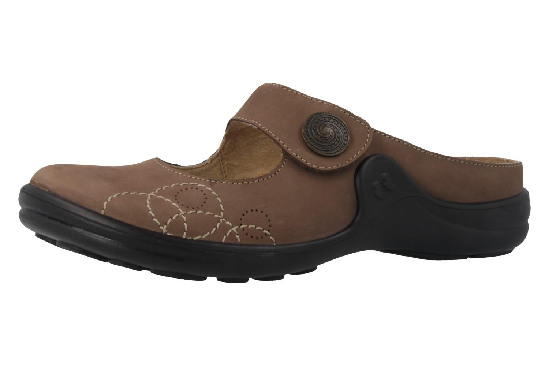 ROMIKA - Maddy 12 - Damen Clogs - Braun Schuhe in Übergrößen – Bild 1