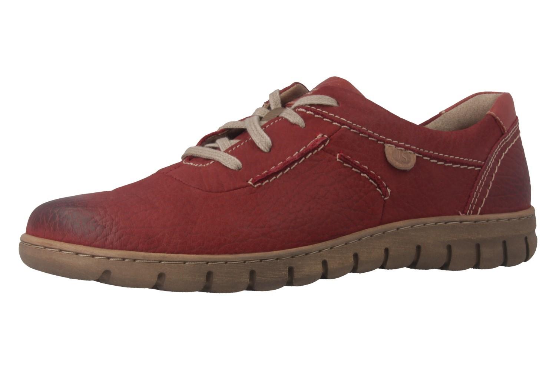 JOSEF SEIBEL - Steffi SoN 07 - Damen Halbschuhe - Rot Schuhe in Übergrößen – Bild 1