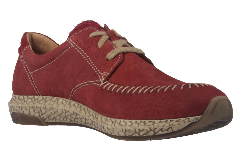 JOSEF SEIBEL - Lia 01 - Damen Halbschuhe - Rot Schuhe in Übergrößen – Bild 4