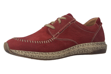 JOSEF SEIBEL - Lia 01 - Damen Halbschuhe - Rot Schuhe in Übergrößen