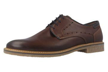 FRETZ MEN - Andrew - Herren Halbschuhe - Braun Schuhe in Übergrößen
