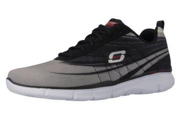 Skechers Sneaker in Übergrößen Grau 51507/LGBK große Herrenschuhe