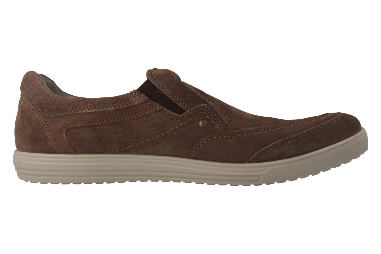JOMOS - Herren Slipper - Braun Schuhe in Übergrößen – Bild 4