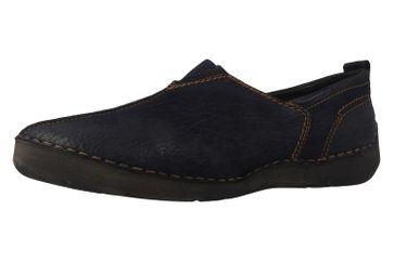 JOSEF SEIBEL - Fergey 12 - Damen Slipper - Blau Schuhe in Übergrößen