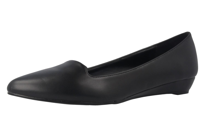 ANDRES MACHADO - Damen Keil-Pumps - Schwarz Schuhe in Übergrößen – Bild 1
