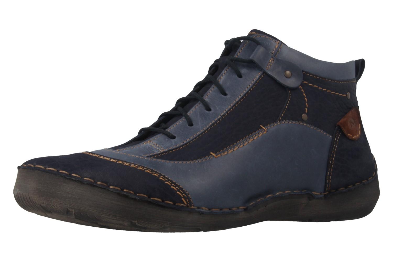 josef seibel damen boots blau gro e schuhe xxl bergr e. Black Bedroom Furniture Sets. Home Design Ideas