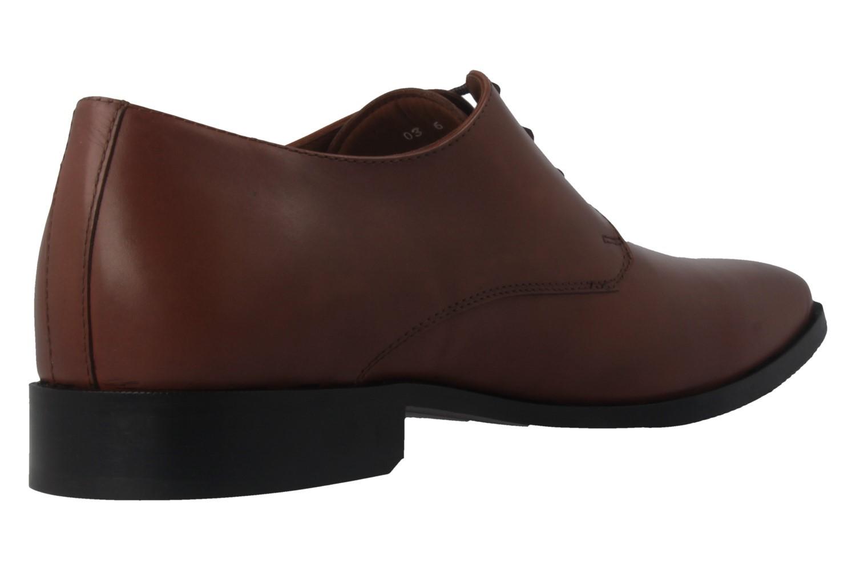 MANZ - Essex - Herren Business Schuhe - Braun Schuhe in Übergrößen – Bild 3