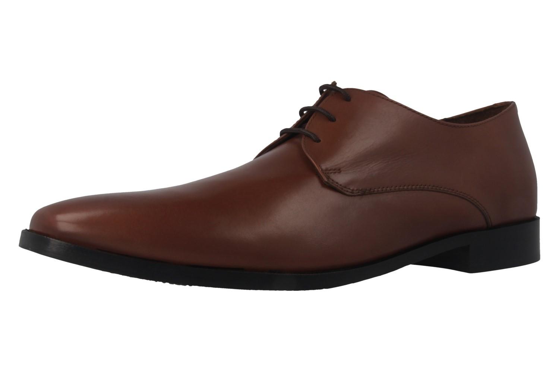 MANZ - Essex - Herren Business Schuhe - Braun Schuhe in Übergrößen – Bild 1